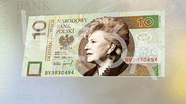 Projekt Gazeta.pl (grafik: Marta Kondrusik) powstał jako przeróbka oryginalnych banknotów NBP autorstwa Andrzeja Heinricha.