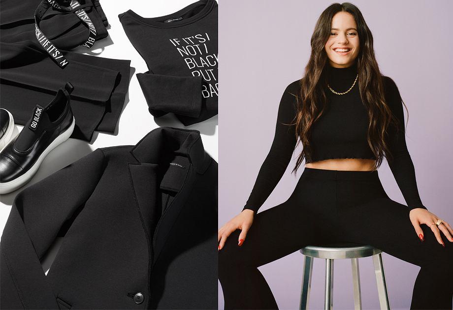 Czarne ubrania na jesień i zimę - nowości ze sklepów
