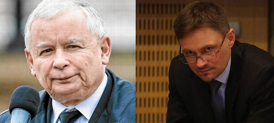 Jarosław Kaczyński i Paweł Wroński