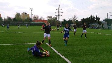 piłka nożna kobiet, Sportowa Czwórka Radom - SMS Łódź 3:3