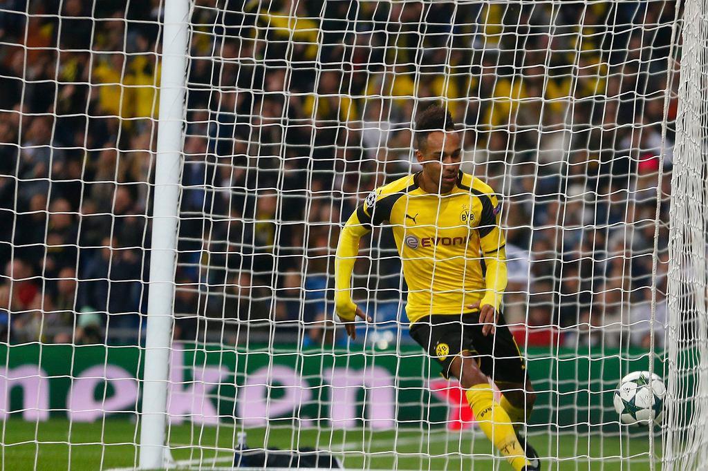 Pierre-Emerick Aubameyang tym razem strzelił gola dla Gabonu