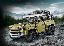Land Rover Defender - kultowa terenówka została zabawką LEGO