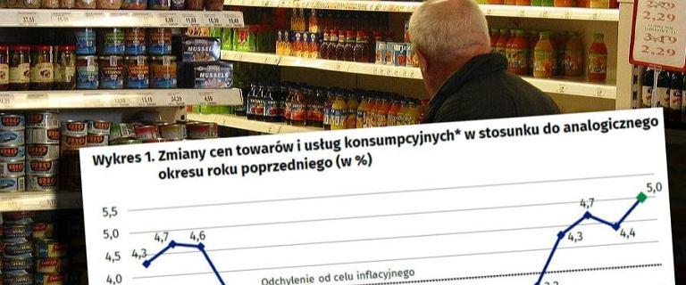 Ależ skok inflacji! 5 proc. w lipcu. Od 20 lat nie było wyższej w Polsce