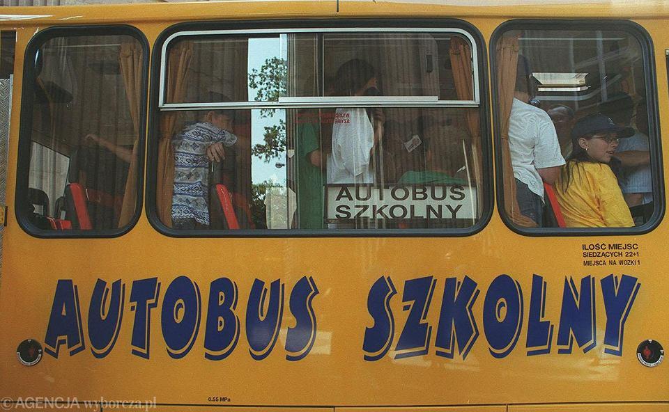 Autobus szkolny (zdjęcie ilustracyjne)