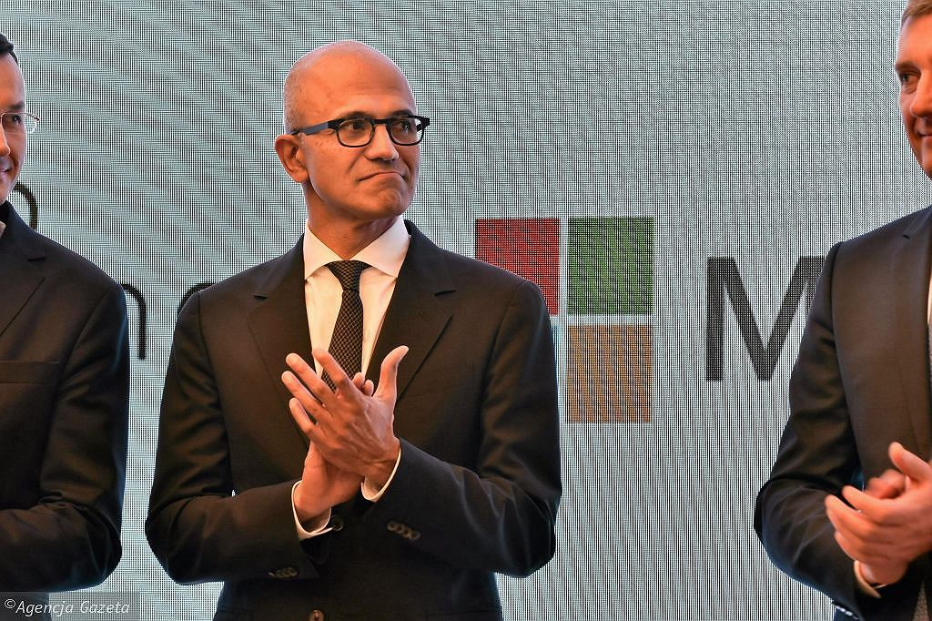 Satya Nadella, dyrektor generalny firmy Microsoft