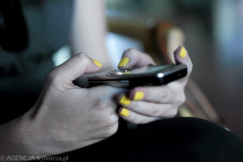 Telefon / &Fot. Franciszek Mazur / Agencja Gazeta