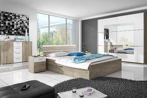 Łóżka, kołdry, materace - wyposażenie sypialni z wyprzedaży