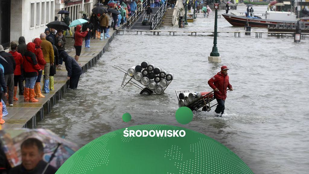 Skutki rekordowej powodzi w Wenecji