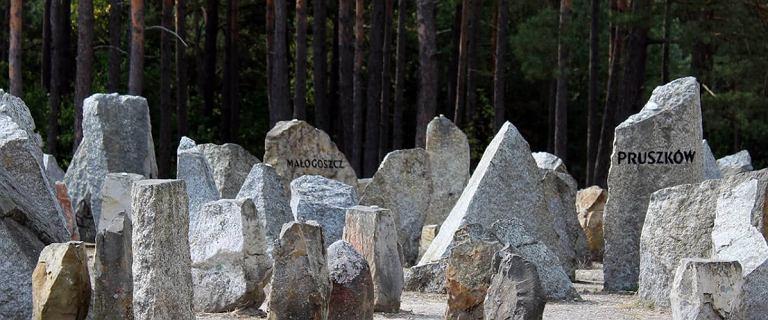 Zbiorowa mogiła odkryta przy dawnym obozie w Treblince