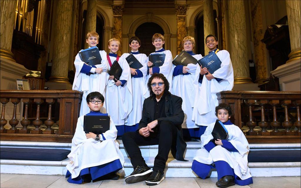 Tony Iommi (Black Sabbath) nagrał dla katedry w Birmingham