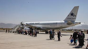 Lotnisko w Kabulu / zdjęcie ilustracyjne