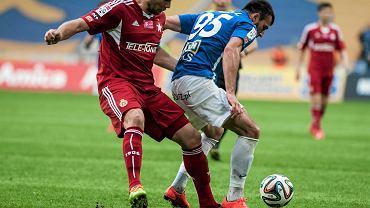 Lech Poznań - Wisła Kraków 0:0. Zaur Sadajew i Arkadiusz Głowacki