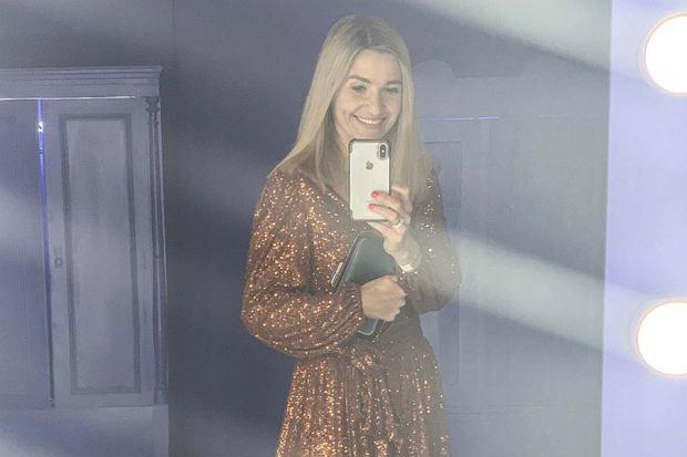 koroniewska sukienka cekiny