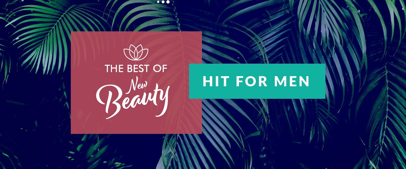 The Best of New Beauty: 'Hit for men' (kobieta.gazeta.pl/Marta Kondrusik)