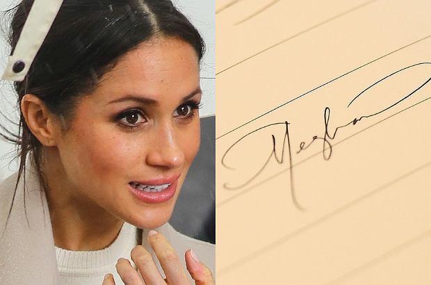 Zdjęcie numer 1 w galerii - Grafolog przeanalizował pismo Meghan, Kate, Williama, Harry'ego. Dzięki temu odkrył ich sekrety!