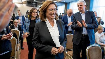 Wybory prezydenckie 2020. Małgorzata Kidawa-Błońska w Poznaniu