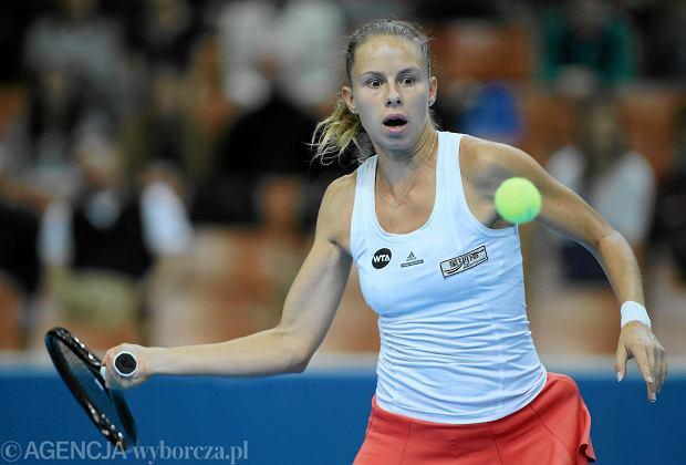 Magda Linette odpadła w 1. rundzie w Rabacie. Niespodziewana porażka
