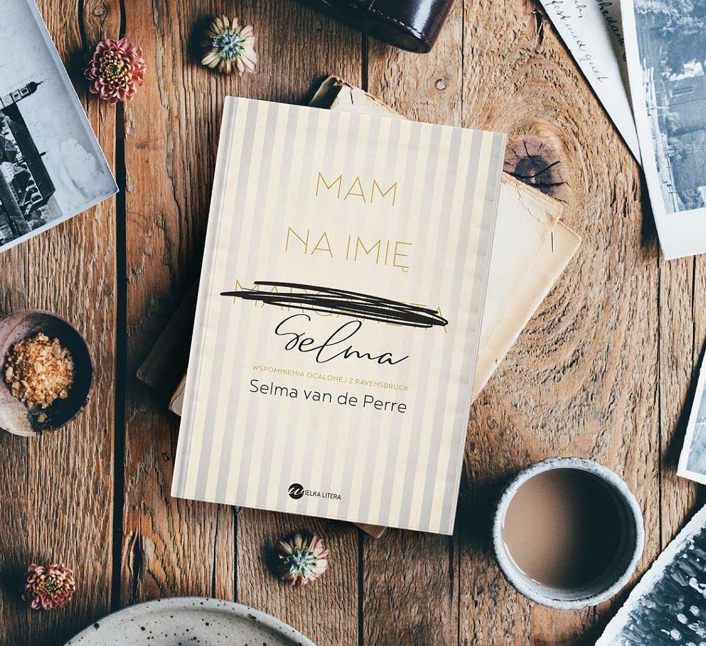 Książka 'Mam na imię Selma', autorstwa Selmy van de Perre