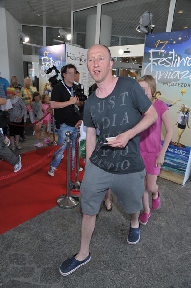 PHOTO: LUKASZ KALINOWSKI / EAST NEWS     MIEDZYZDROJE 04/07/2012     FESTIWAL GWIAZD W MIEDZYZDROJACH 2012 PIERWSZY DZIEN FESTIWALU   N/Z CEZARY KOSINSKI