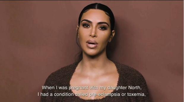 Kim Kardashian opowiada o komplikacjach w ciąży