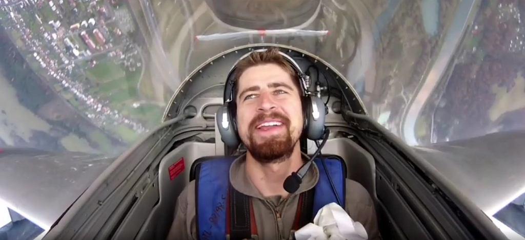 Peter Sagan prowadził myśliwca odrzutowego