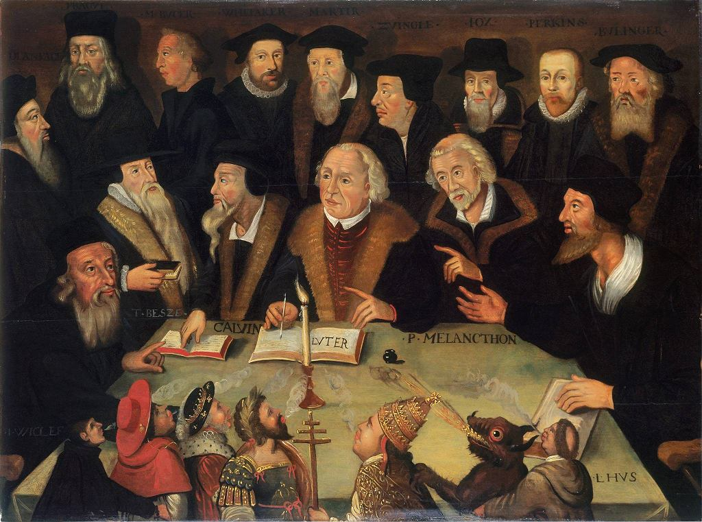 / Martin Luther in the Circle of Reformers,  Deutsches Historisches Museum