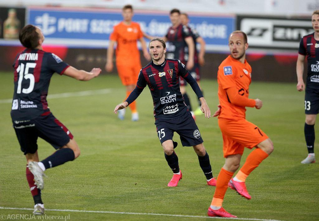 W maju tego roku Pogoń przegrała z Zagłębiem w Szczecinie 0:3