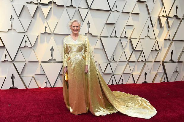 Oscary 2019. Glenn Close na czerwonym dywanie