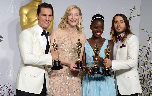 Matthew McConaughey, Cate Blanchett, Lupita Nyong'o, Jared Leto.