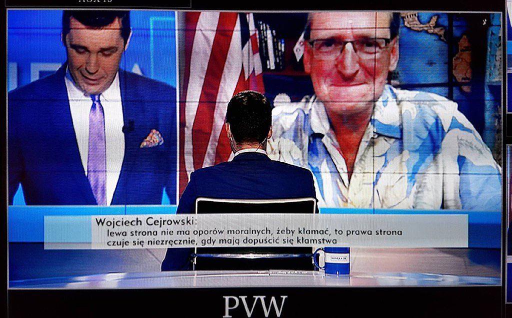 Michał Rachoń i Wojciech Cejrowski w programie 'Minęła 20'. fot. Twitter.com/michalrachon