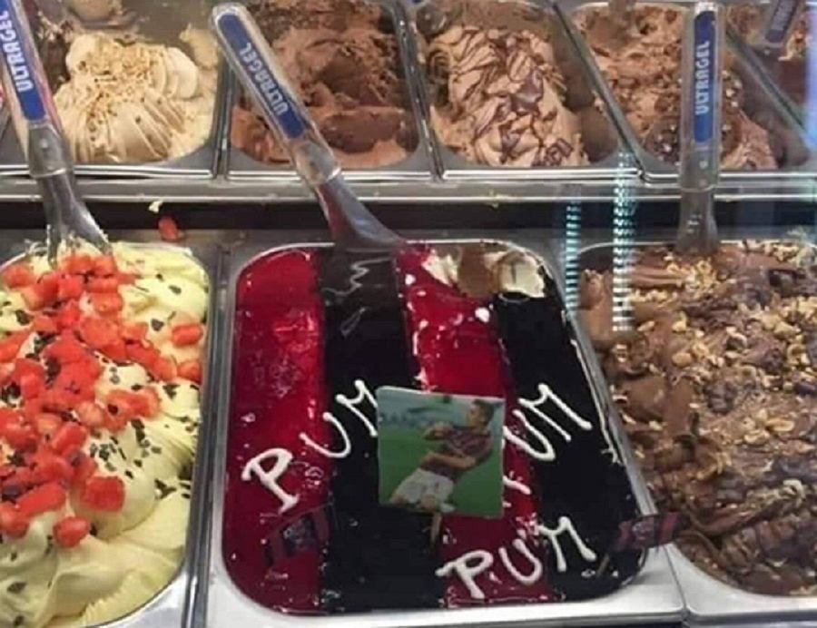 Krzysztof Piątek doczekał się własnego smaku lodów we Włoszech