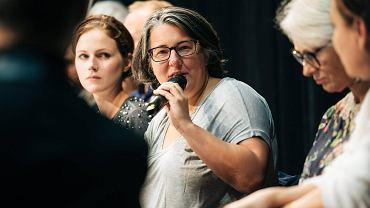 Gdynia 2017. Konferencja prasowa filmu 'Pokot'. Katarzyna Adamik
