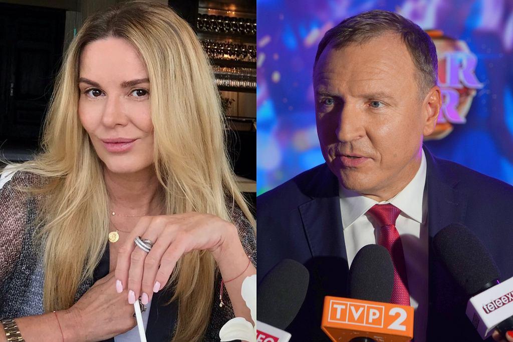 Hanna Lis i Jacek Kurski