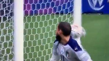 Donnarumma i jego kiepska interwencja w meczu z Hiszpanią