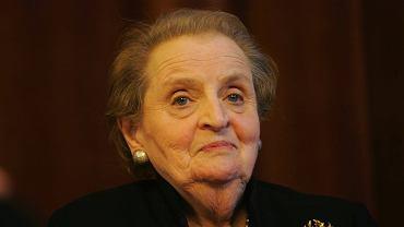 Madeleine Albright wspiera polskie media.