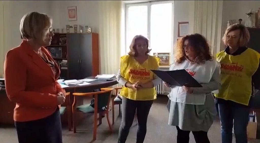 Okupacja małopolskiego kuratorium