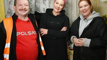 Katarzyna Dowbor z ekipą programu 'Nasz nowy dom'