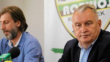 Kamil Kosowski (z lewej) i Marek Motyka