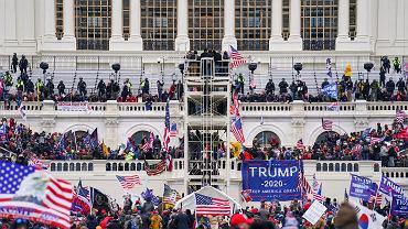 6 stycznia 2021 r. Szturm zwolenników Donalda Trumpa na Kapitol