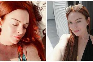Seksowna Lindsay Lohan pokazała swoje stare zdjęcie. Pamiętacie ją z tamtych czasów?