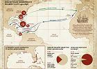 To największa w dziejach mapa zatopionych skarbów. Tylko część z nich odnaleziono