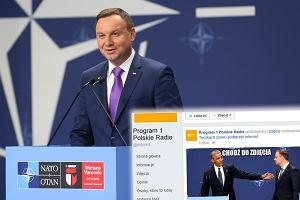 Będą zwolnienia? Polskie Radio kpiącym memem wysłało prezydenta Dudę do... więzienia