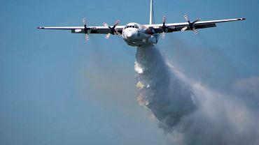 Samolot C-130 wykorzystywany do gaszenia pożarów / Zdjęcie ilustracyjne