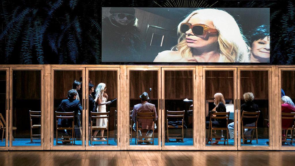 'Wyjeżdżamy', reż. Krzysztof Warlikowski, Nowy Teatr w Warszawie / MAURYCY STANKIEWICZ