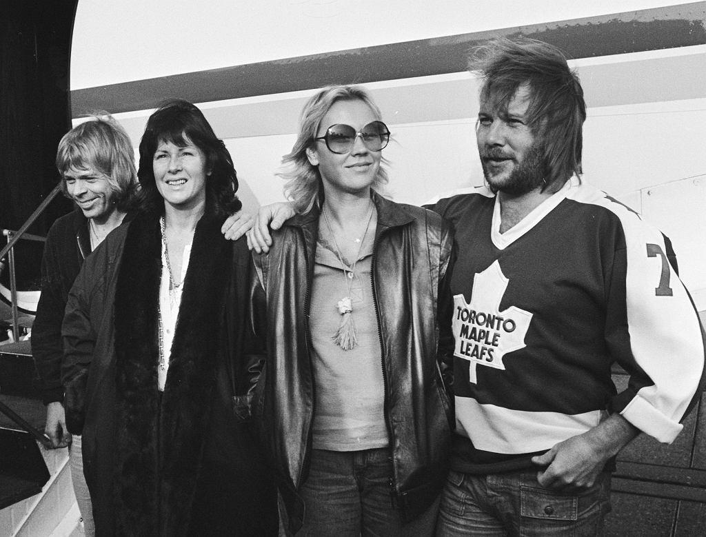 ABBA w Rotterdamie 1973