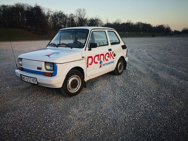 Kultowy Fiat 126p na minuty - maluch we flocie Panek CarSharing