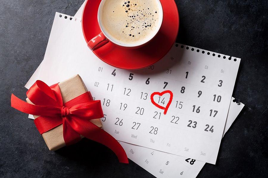 Walentynkowy kalendarz