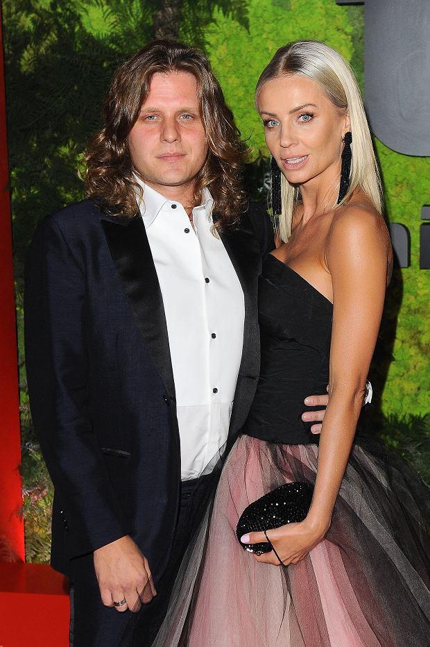 Piotr Woźniak-Starak z żoną