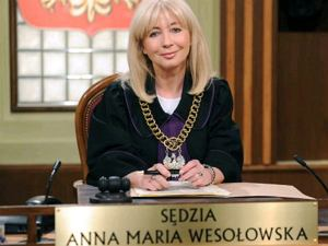 'Sędzia Anna Maria Wesołowska'