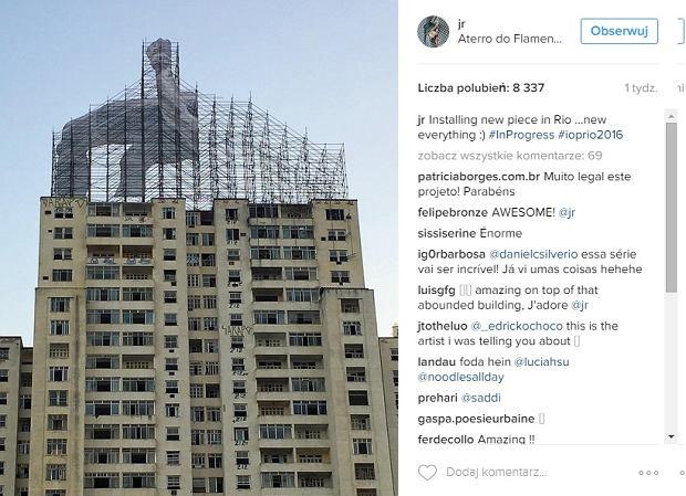 Zdjęcie numer 5 w galerii - Na ulicach Rio de Janeiro pojawiły się niezwykłe instalacje